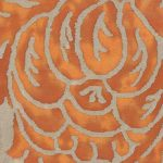 Barberini Burnt Apricot and Silvery Gold
