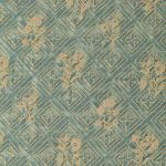 Jupon Bouquet Vintage Blue Green and Gold